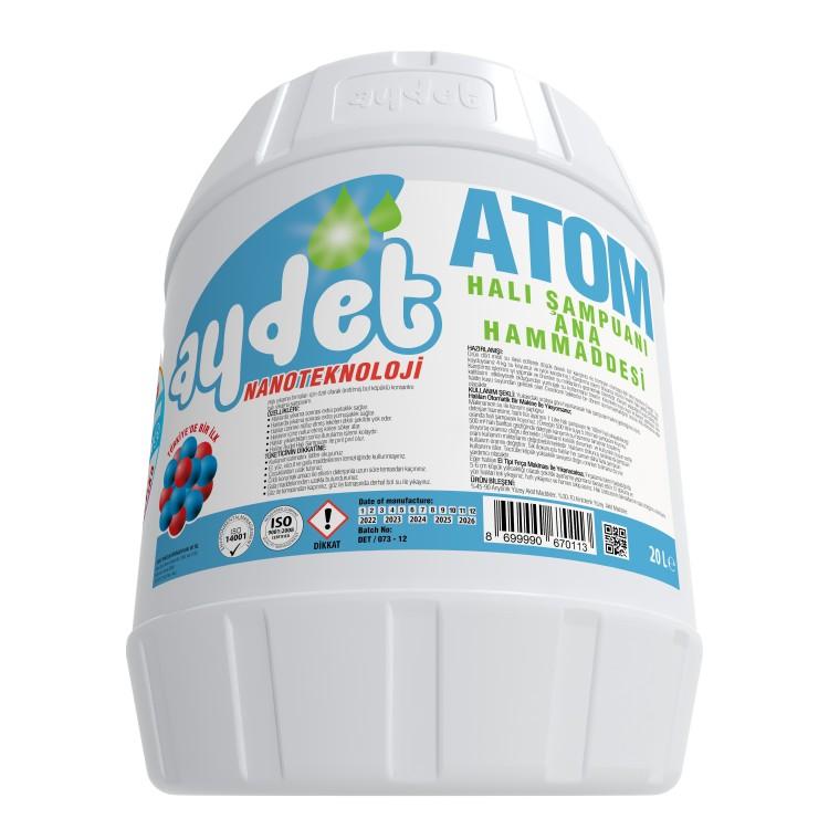 Основное сырье шампуней для стирки ковров Atom 20кг